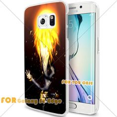 New OnePiece Anime Cartoon Manga Cell Phone11 S6 Edge Case, For-You-Case Samsung S6 Edge White Silicone Case Cover NEW fashionable Unique Design