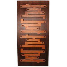 60's Jacaranda Decorative Panel/Door   1stdibs.com