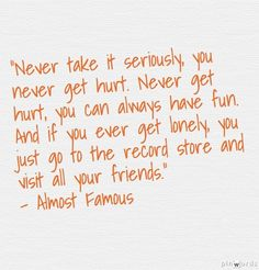 Almost Famous quote