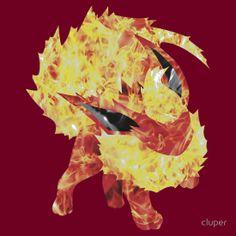 Flareon Shirt. #shirt #tshirt #pokemon #eeveelution #eevee #flareon #jolteon #vaporeon #umbreon #espeon #glaceon #leafeon #pokeball #nintendo #video #game #geek #nerd #90s