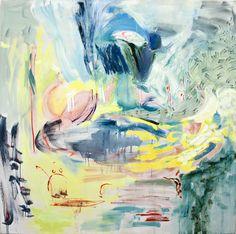 Anita Naukkarinen, Till The Well Runs Dry, 200 x 200, Oil on canvas