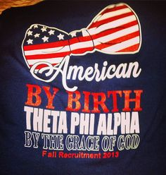 Love the American theme with the ties to the sorority!! Will have to check these out.