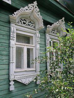 Ивановские наличники. Ivanovo