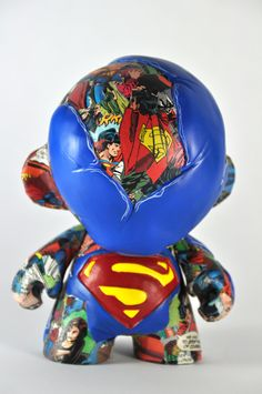 Superman | Munny by VISEone , via Behance