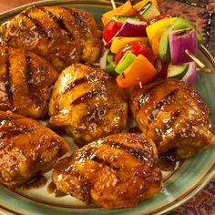 Spicy BBQ Grilled Chicken