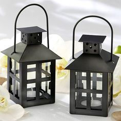 Mini Lantern Tealight Holder by Beau-coup