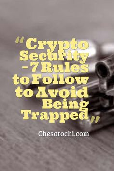 Security with #cryptocurrency and #bitcoin is an important topic. Come read this awesome article.