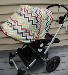sew your own stroller sun shade and links to other good stuff!