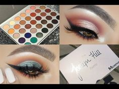 Two Looks One Palette: Jaclyn Hill Morphe Palette - Smokey Eye Makeup Beautiful Eye Makeup, Natural Eye Makeup, Eye Makeup Tips, Smokey Eye Makeup, Makeup Goals, Makeup Inspo, Beauty Makeup, Makeup Ideas, Makeup Geek