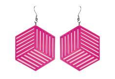 Cubacious // Cube Cutout Earrings