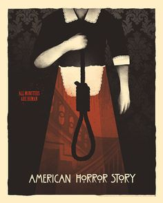 """All Monsters Are Human"" by Moscati #ahs #american #american-horror-story…"