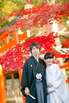 紅葉の京都ロケーション - 和装前撮り 12