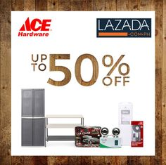 Check out ACE Hardware SALE at LAZADA!  Shop at www.lazada.com.ph and get up to 50% OFF on selected tools, electrical & home hardware items!  Promo available until December 31, 2016.  For more promo deals, VISIT http://mypromo.com.ph/! SUBSCRIPTION IS FREE! Please SHARE MyPromo Online Page to your friends to enjoy promo deals!