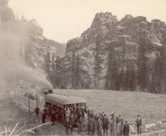1891 Opening of Manitou and Pike's Peak Railway (Cog)