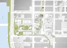 Completed Site Plan. Image Courtesy of Hudson Yards