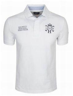 9522bd87623 nouvelle collection ralph lauren! Hackett Bonne qualité Homme Objectif Polo  Team blanc