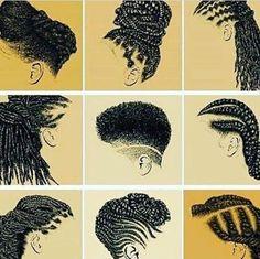 """632 curtidas, 7 comentários - Crespos/Cachos da Negra (@cachosdanegra) no Instagram: """"A importância do cabelo crespo em uma imagem só. Foto: Internet #crespo #cachos #cabelos…"""""""