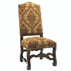 Brown Spice Side Chair from our Italiano Collection. Accents of Salado specializes in Tuscan Dining Room Furniture.