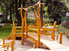 Brücken: Ziegler Spielplätze von A bis Z