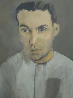 """Christian Bérard (1902-1949) """"Portrait du peintre Jacques Dupont"""", dét. (1930) musée de Grenoble (Isère, France) (by Denis Trente-Huittessan)"""