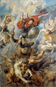 Peter Paul Rubens - The Fall of the Angels.