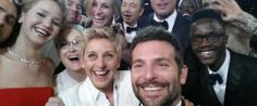 Ellen DeGeneres Orchestrates The Most Famous Selfie Ever At The Oscars