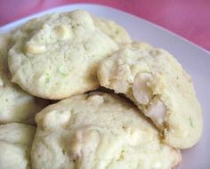 I know it sounds a bit off but Lime, White Chocolate, and Macadamia Nut Cookies are suprisingly good.
