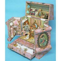 """A Mignonette 5"""" Doll Presentation Box - VPD87"""