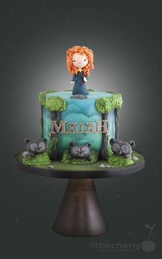 Brave Cake - Cake by Little Cherry