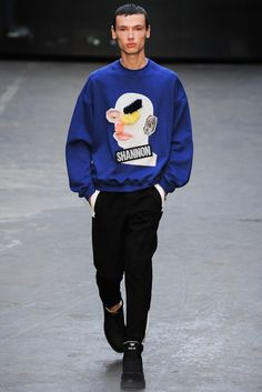 Christopher Shannon Fall 2015 Menswear - Collection - Gallery - Style.com