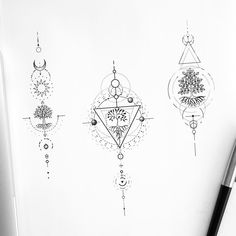 Discover recipes, home ideas, style inspiration and other ideas to try. Mini Tattoos, Body Art Tattoos, Sleeve Tattoos, Tattoos Geometric, Geometric Tattoo Design, Small Meaningful Tattoos, Cute Small Tattoos, Tattoo Geometrique, Zealand Tattoo