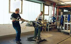 Interiors: The Thonet factory in Frankenberg, Germany, has been used since the company started