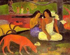 Paul Gauguin, Arearea I, 1892.
