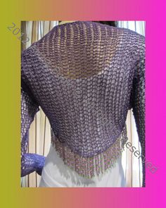 Handmade Shrugs And Boleros  Lightweight Shrug  by ArtisticFunk, $60.00