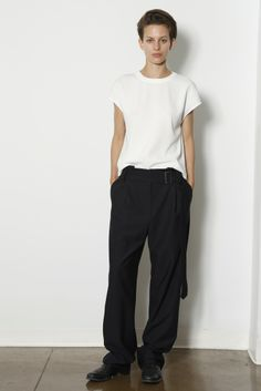 Am into baggie trousers just now for a change. Ji Oh Resort 2015