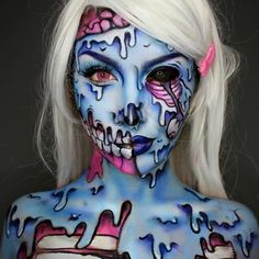 Explore our collection of zombie makeup looks. halloween makeup | halloween makeup ideas | halloween makeup pretty | halloween makeup scary | halloween makeup diy | Halloween Makeup Artist | Halloween Makeup Ideas | halloween makeup | Halloween makeup | Halloween Makeup | Halloween Makeup |