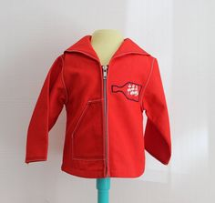 VINTAGE 60/70's / enfant / veste style marin par Prettytidyvintage
