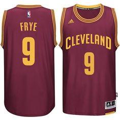 Cleveland Cavaliers #9 Channing Frye New Swingman Road Jersey Wine