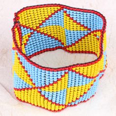 #ONLINE_SHOPPING @ Khoobsurati.com Get this Beads Stretchable #BRACELET http://khoobsurati.com/pdt/zovon/zovon-red-blue-and-yellow-beads-stretchable-bracelet