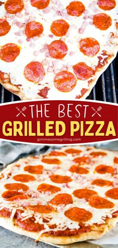 Learn the tips and tricks for the BEST Grilled Pizza! Its crust is what dreams are made of. Plus, this grilling recipe is quicker and easier than you ever thought! Grab your dough and favorite toppings to make this dinner idea for tonight! The flavor combos are endless! Barbecue Recipes, Grilling Recipes, Slow Cooker Recipes, Crockpot Recipes, Easy Homemade Recipes, Easy Dinner Recipes, Breakfast Recipes, Yummy Recipes, Pizza Snacks