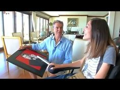 "Pierce Brosnan receives special gifts from Mouth and Foot Painting Artist, Mariam Paré. #examinercom  As a writer who's followed Pierce Brosnan's career beginning with his portrayal of TV's ""Remington Steele,"" and into James Bond and beyond, this is a dynamic inspirational story about an important organization, the Mouth and Foot Painting Artists USA association, which I've also enjoyed supporting. #mfpausa #piercebrosnan #jamesbond007 #mariampare #mouthandfootpaintingartists…"