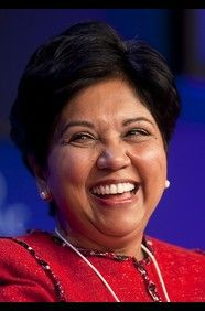 Indra Nooyi has broken many barriers in rising from student immigrant to corporate titan. After earning a master's of business administration degree at the Indian Institute of Management Calcutta in 1976, Nooyi came to the United States to attend Yale University and study public and private management.