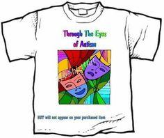 T-shirt - THROUGH THE EYES OF AUTISM awareness