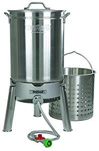 Bayou Classic 44-Quart Stainless Steel Cooker Kit for Steaming Boiling or Brewing Review