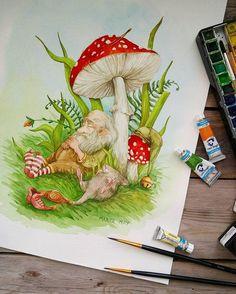 watercolor.blog Watercolorist: @marta__may  #waterblog #акварель #aquarelle #painting #drawing #art #artist #artwork #painting #illustration #watercolor #aquarela