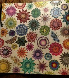 34 Best Johanna Basford Secret Garden Completed Pages Images On
