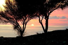 Nothing quite like a true Mediterranean sunset. This one was taken from the ancient remains of Curium / Kourion, Cyprus, by Ian Sewell.