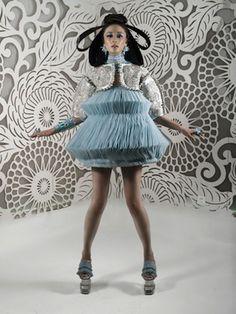 Barbie wears Guo Pei Haute couture | thebigears