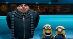Steve Carell and Pierre Coffin in Despicable Me 2 Benjamin Bratt, Steve Carell, Toy Story Series, Tv Series, Agnes Despicable Me, Minions Despicable Me, Funny Minion, Funny Jokes, Russell Brand