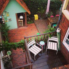 Outdoor #smallgarden #rainyday #balcony